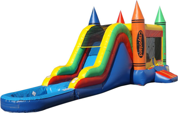 Crayon Combo with Removable Pool