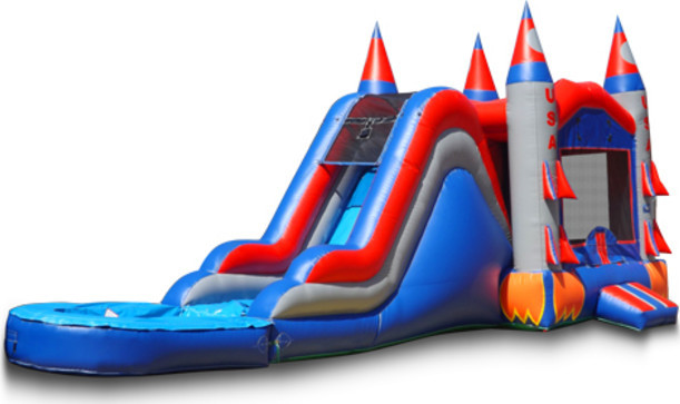 Rocket Ship Combo with Removable Pool