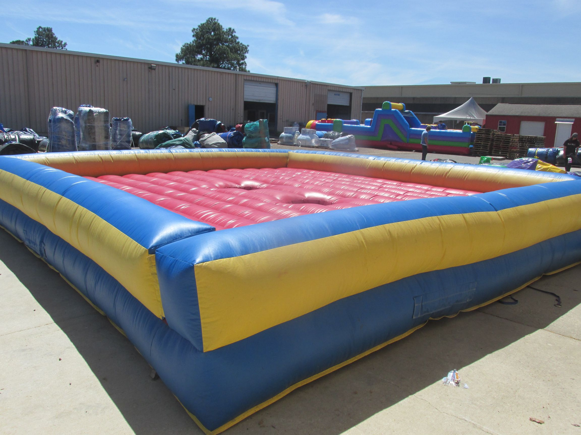 Inflatable Joust Interactive Game