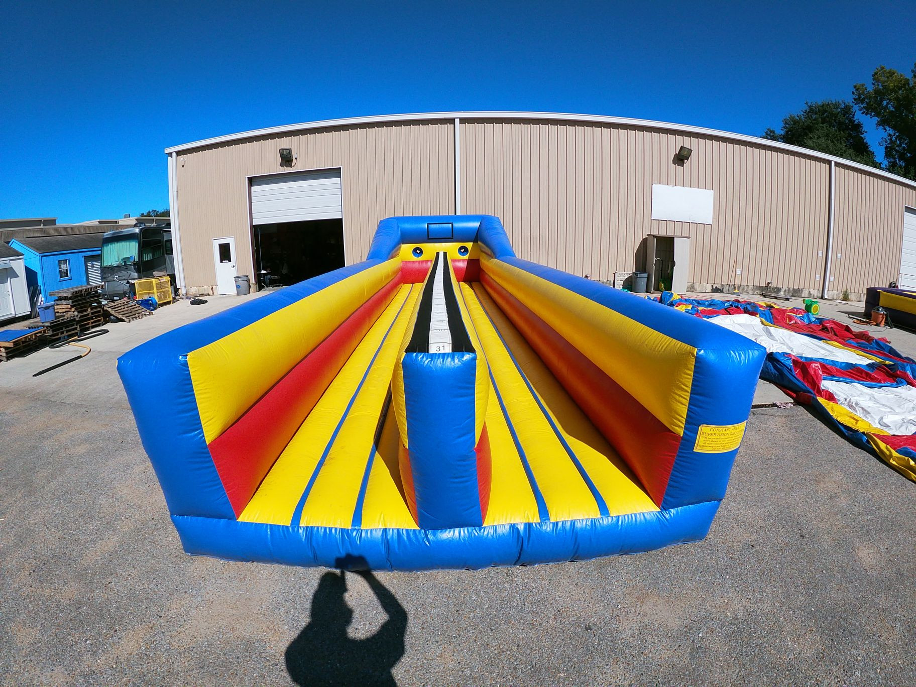 Inflatable Bungee Run Interactive Game
