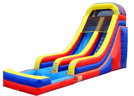 16 and 18' Arch Slide with Pool (SOLD OUT)